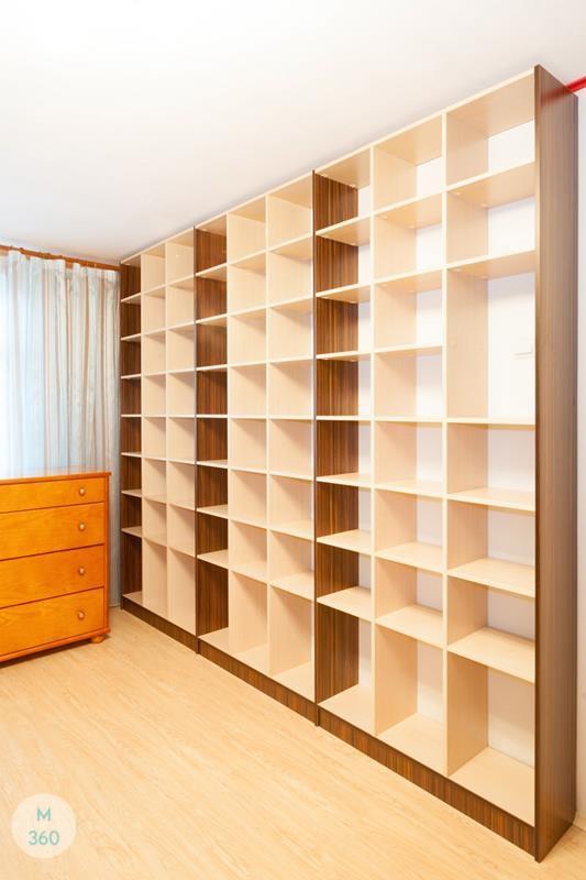 Книжный шкаф из массива на заказ Арт 10