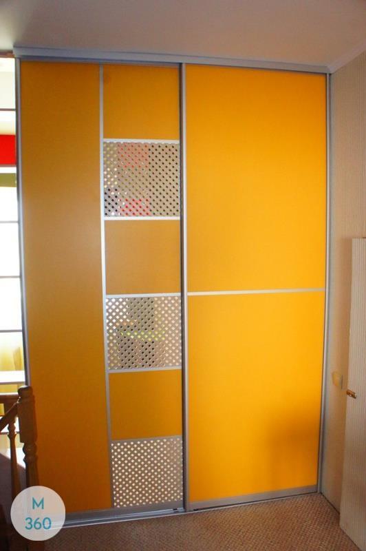 Оранжевый шкаф купе Чико Арт 000002307