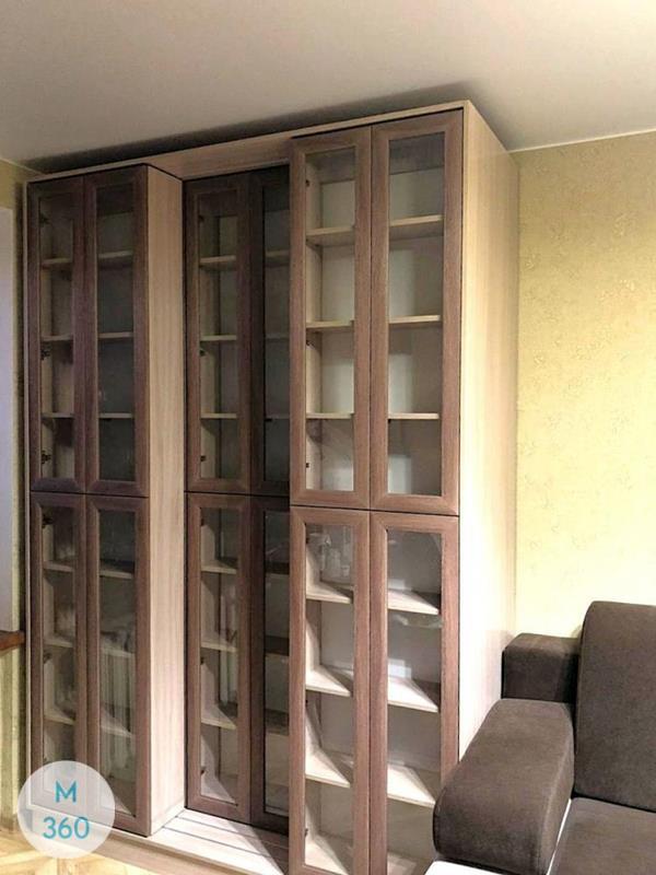 Распашной книжный шкаф Коламбус Арт 000122055
