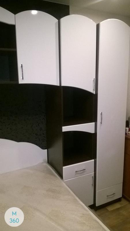Платяной распашной шкаф Малайзия Арт 000236081