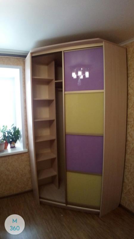 Фиолетовый шкаф купе Владивосток Арт 000236701