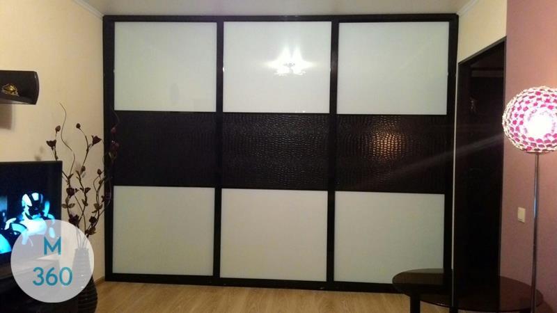 Шкаф купе с кожаными вставками Фрейя Арт 000304252
