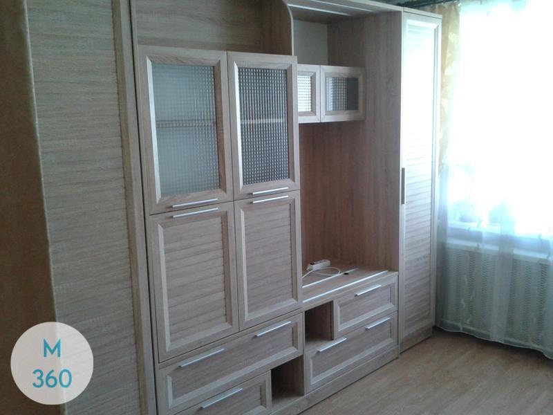 Распашной шкаф со стеклянной дверью Татьяна Арт 000717947