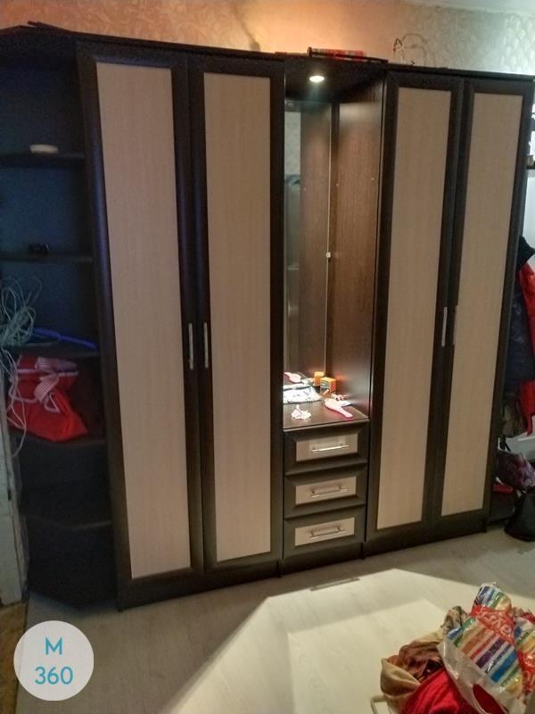 Элитный распашной шкаф Софи Арт 000812818