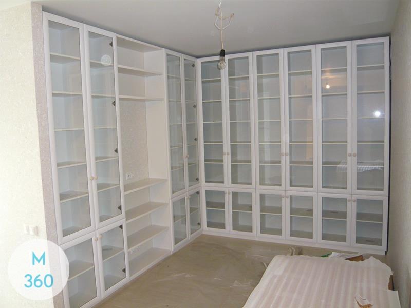 Распашной книжный шкаф Анжелика Арт 000958976