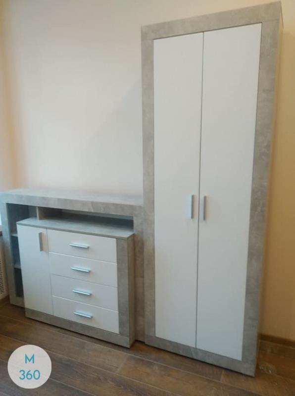 Распашной шкаф с антресолью Жок Арт 001252969
