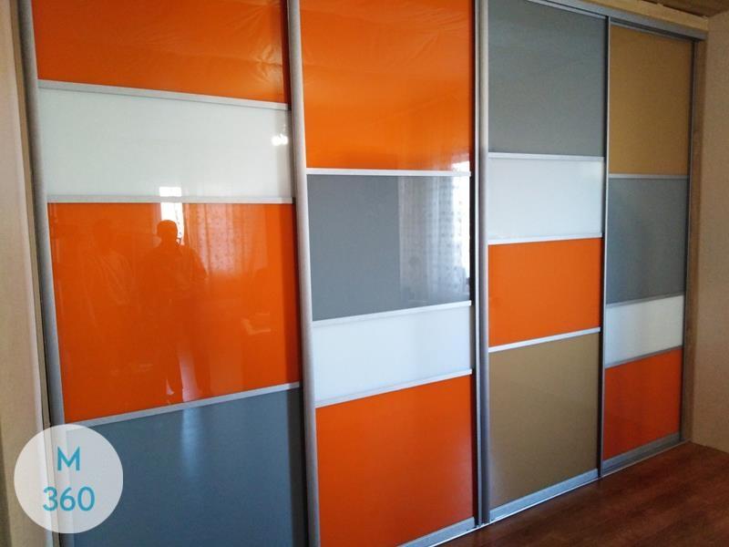 Оранжевый шкаф купе Йена Арт 001383093