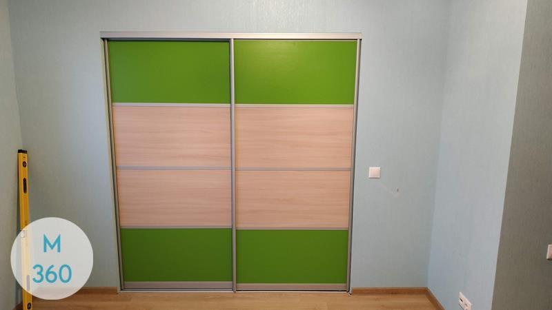 Зеленый шкаф купе Дэвис Арт 001959606