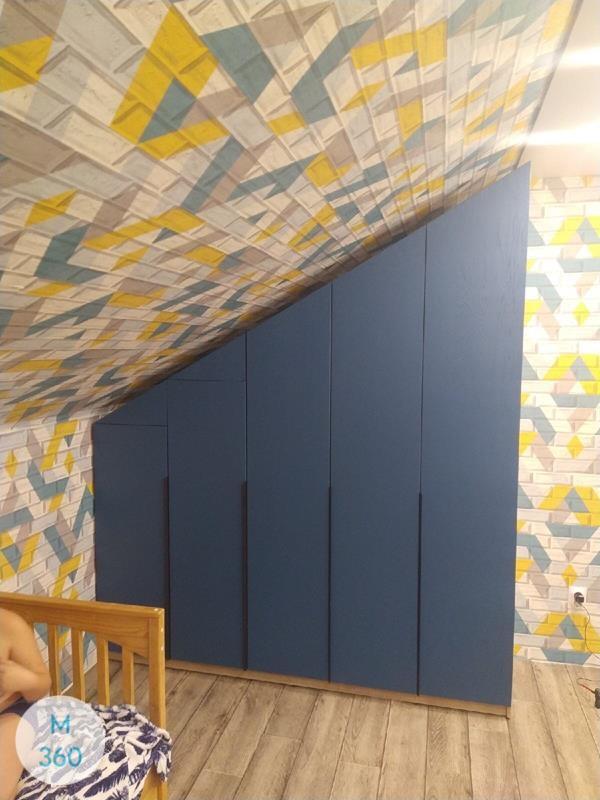 Распашной глянцевый шкаф Асунсьон Арт 002014599