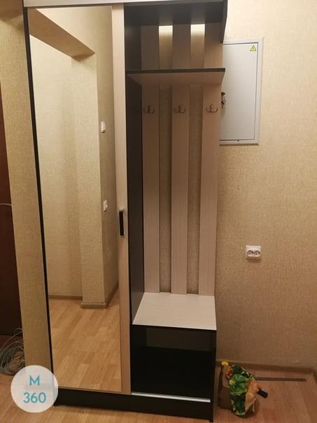 Узкий распашной шкаф Снежана Арт 002529724