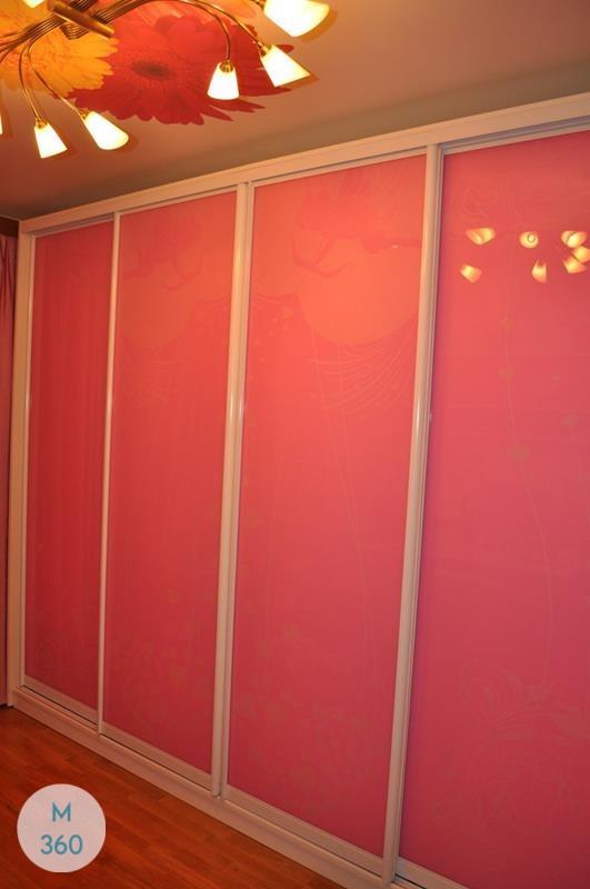 Цветной шкаф купе Марина Арт 002655491