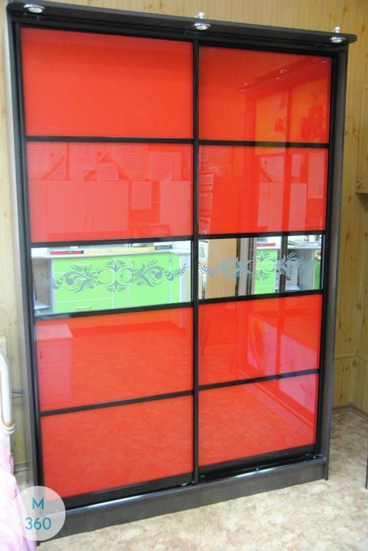 Красный шкаф Римини Арт 002843106