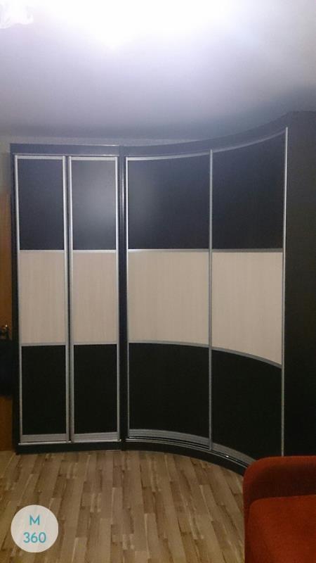 Радиусный вогнутый шкаф Нэнси Арт 002909769