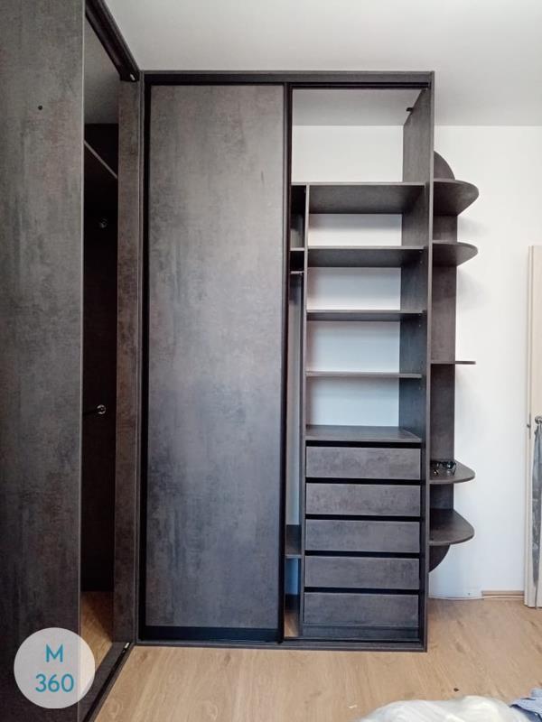 Высокий шкаф купе Макролюкс Арт 003061697