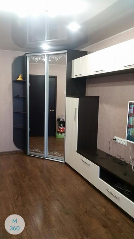Радиусный вогнутый шкаф Снейк Арт 003108076