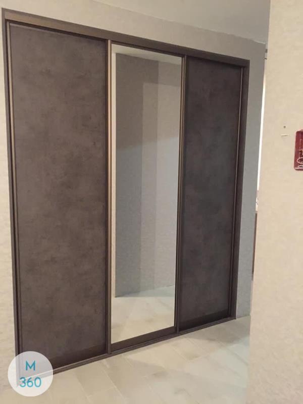 Шкаф купе с кожаными вставками Арзамас Арт 003225637