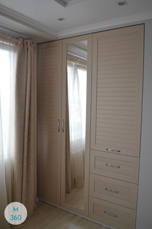 Шкаф с жалюзийными дверцами Киль Арт 003458643