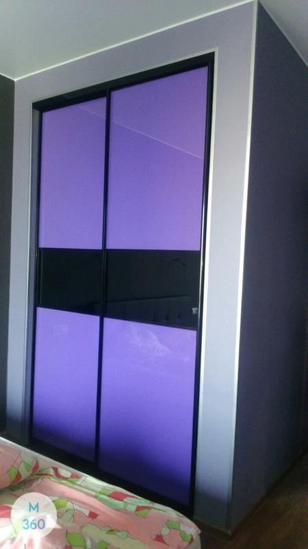 Фиолетовый шкаф купе Шлезвиг-Гольштейн Арт 003653162