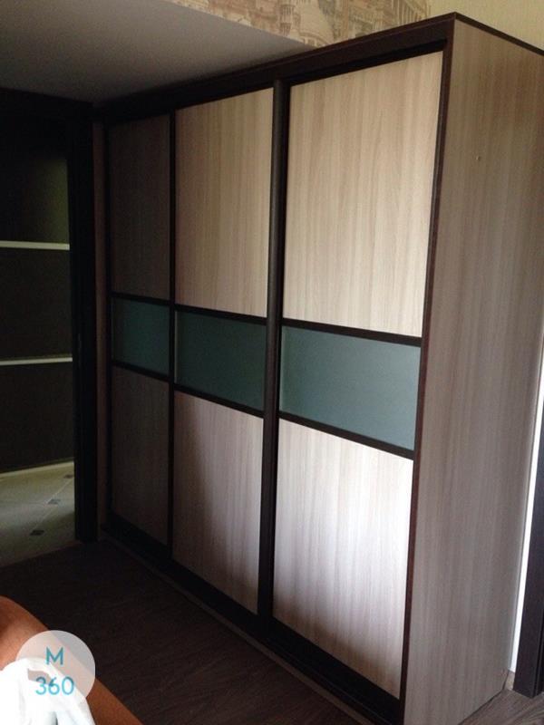Шкаф купе с матовым стеклом Индия Арт 004233115
