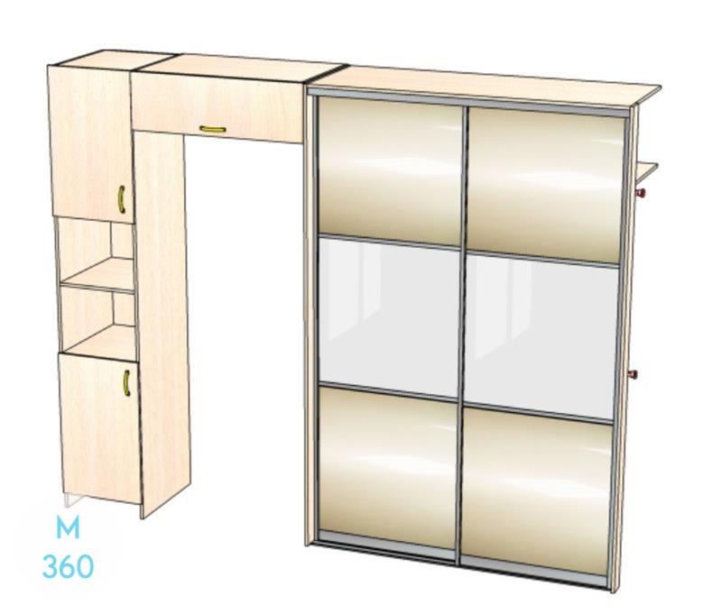 Шкаф встроенный для ниш Коста-Рика Арт 004281850