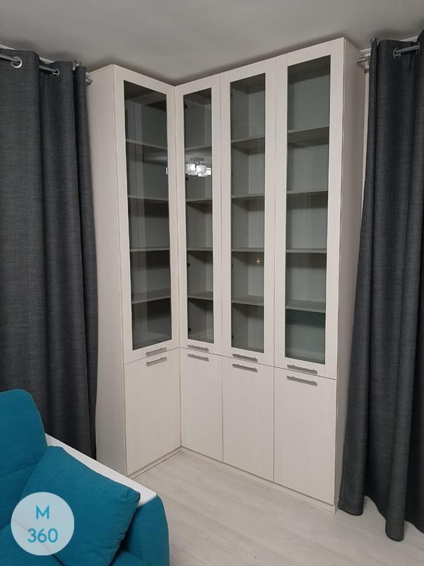 Книжный шкаф со стеклянными дверцами Лучший Арт 004341667
