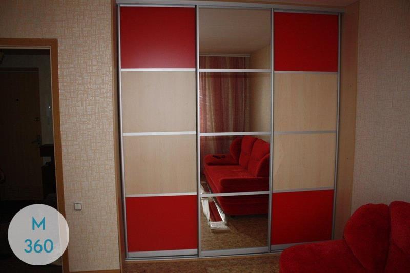 Красный шкаф Нигер Арт 004628393