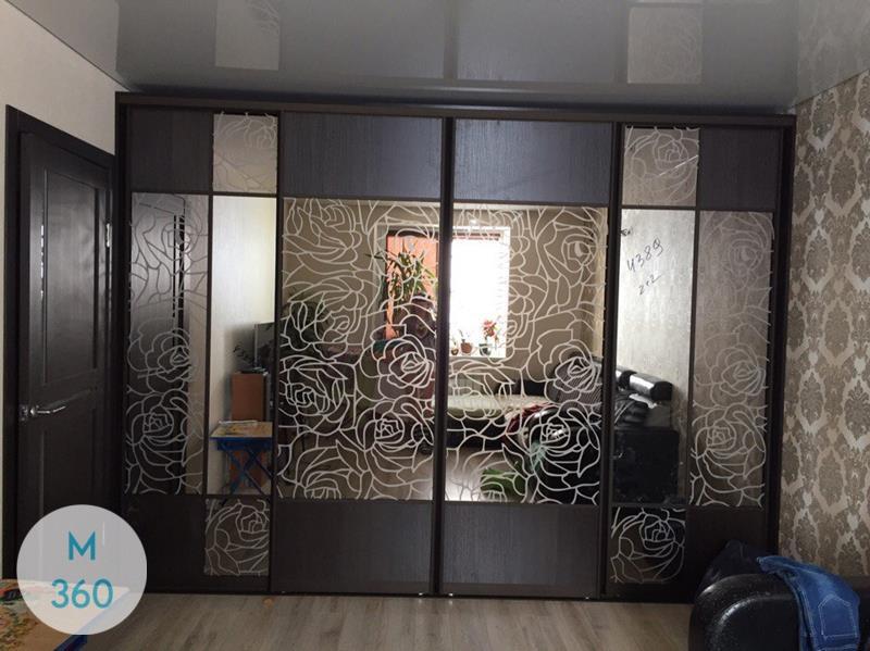 Шкаф купе с рисунком на зеркале Меконг Арт 004763860