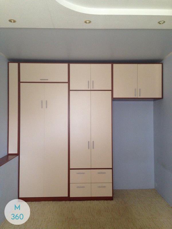Встроенный шкаф с распашными дверями Швеция Арт 004795848
