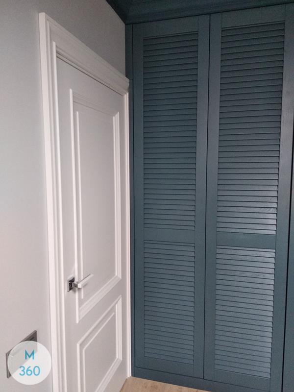 Синий распашной шкаф Алексин Арт 005232002