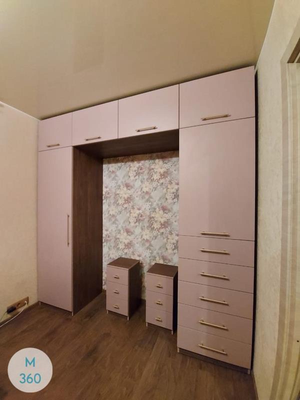 Распашной шкаф из массива дерева Берта Арт 005250182