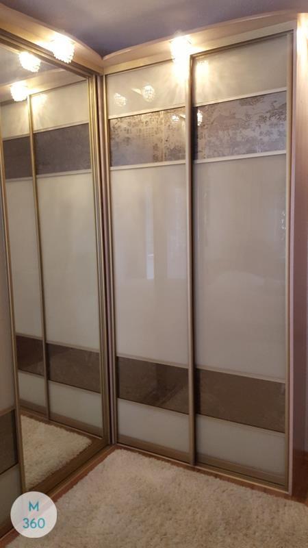 Зеркальная дверь купе Пеллегрини Арт 005657365