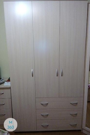 Узкий встроенный шкаф Суматра Арт 005916261