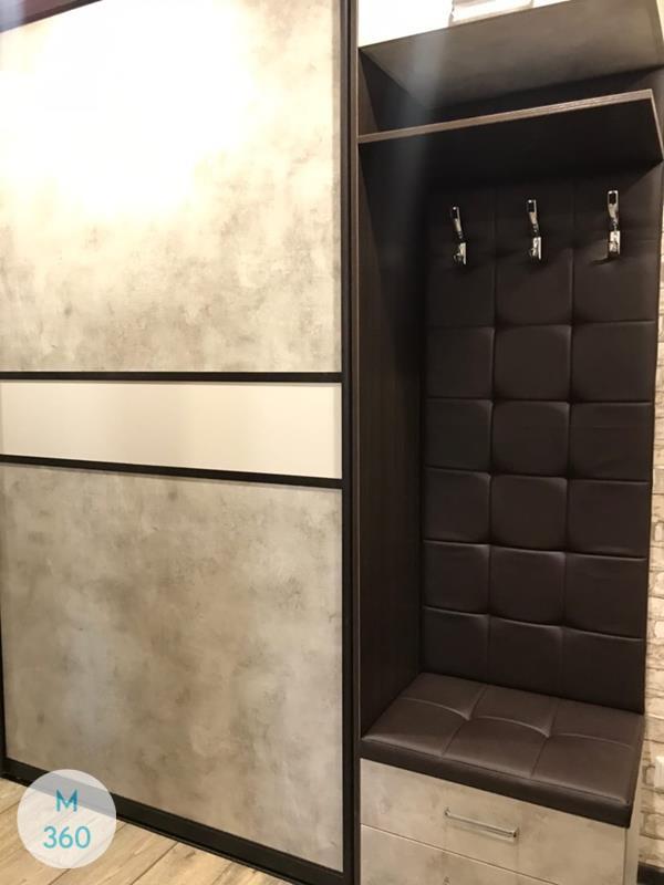 Шкаф купе с кожаными вставками Гватемала Арт 005961848
