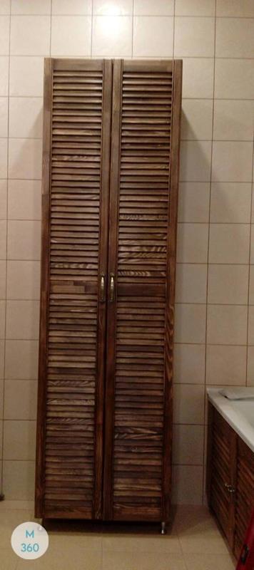 Шкаф с жалюзийными дверцами Нанси Арт 006200127