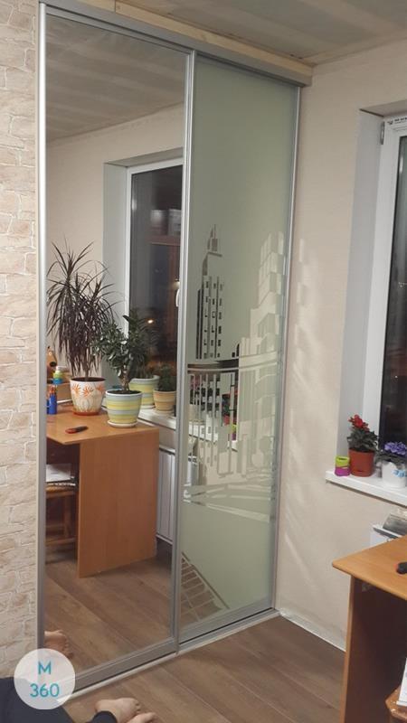 Узкий встроенный шкаф Эсватини Арт 006229111