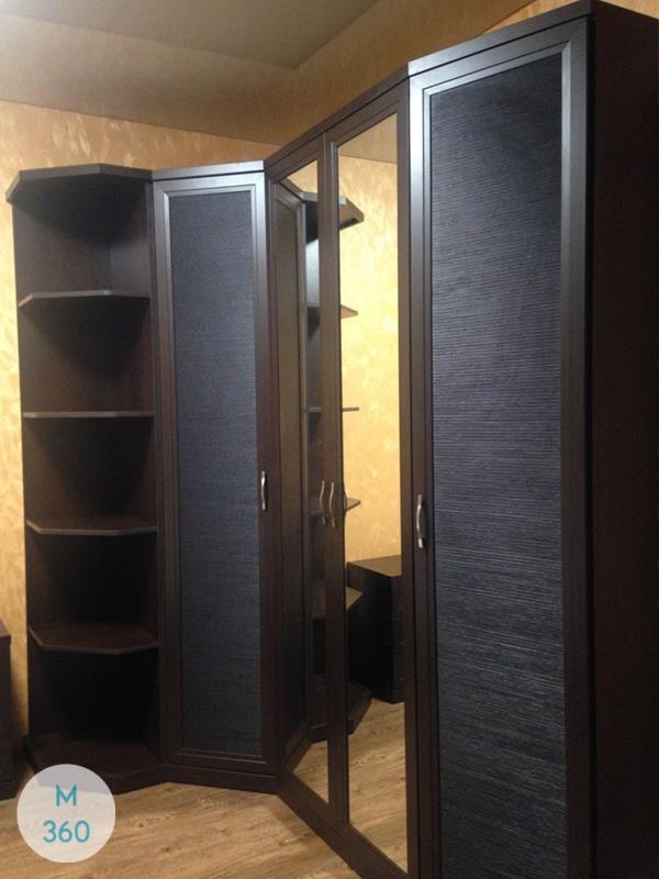 Радиусный шкаф с зеркалом Амадео Арт 006350708