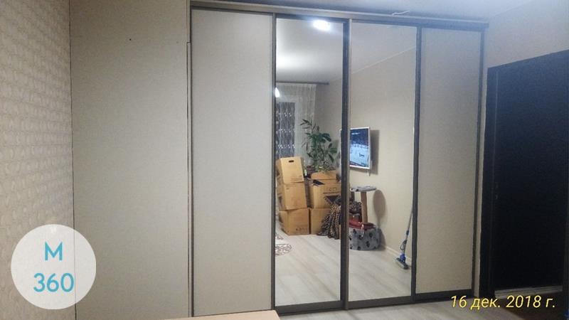 Радиусный вогнутый шкаф Евфросиния Арт 006421637