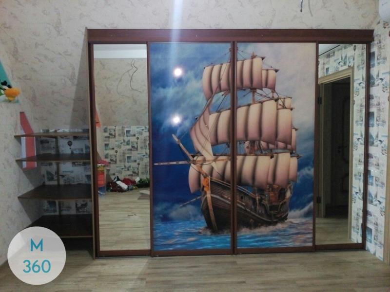 Скошенный шкаф Амати Арт 006489593