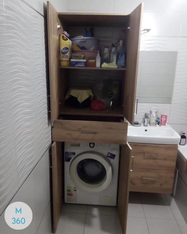 Шкаф в ванную комнату Анджело Арт 006784529