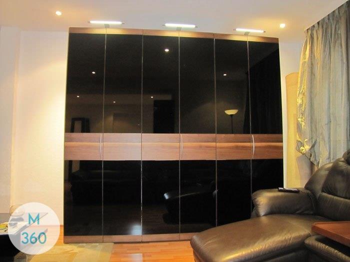 Распашной шкаф со стеклянной дверью Хаген Арт 006976559