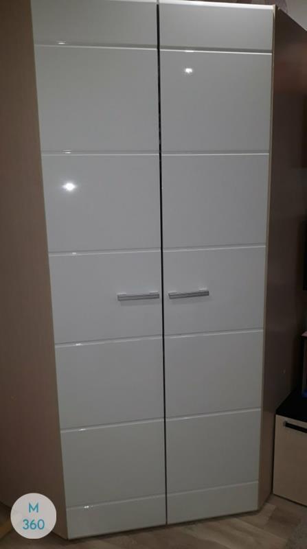 Распашной глянцевый шкаф Бергамо Арт 007201413