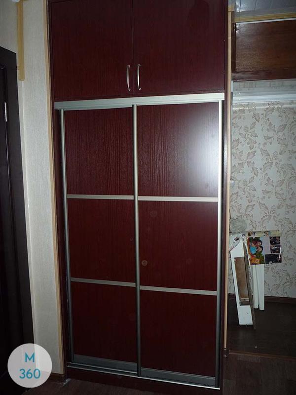 Красный шкаф Урбэн Арт 007554901