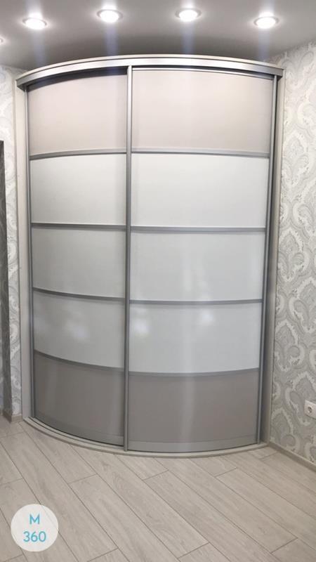 Вогнутый шкаф купе Андреа Арт 007594078