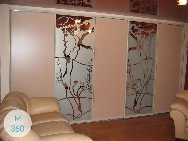 Встроенный шкаф купе Андорра-Ла-Велья Арт 007744147