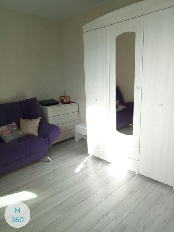 Распашной шкаф со стеклянной дверью Волга Арт 007746532