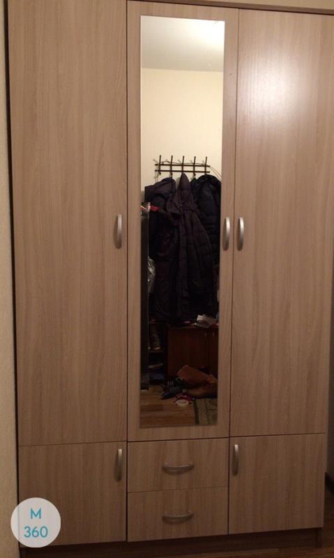 Узкий встроенный шкаф Ирвайн Арт 007780111