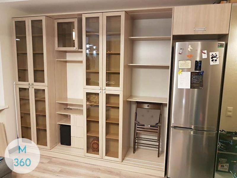 Распашной книжный шкаф Сша Арт 007846196