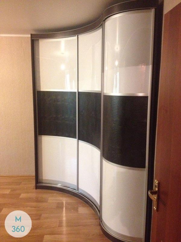 Выпуклый радиусный шкаф Донато Арт 008245600