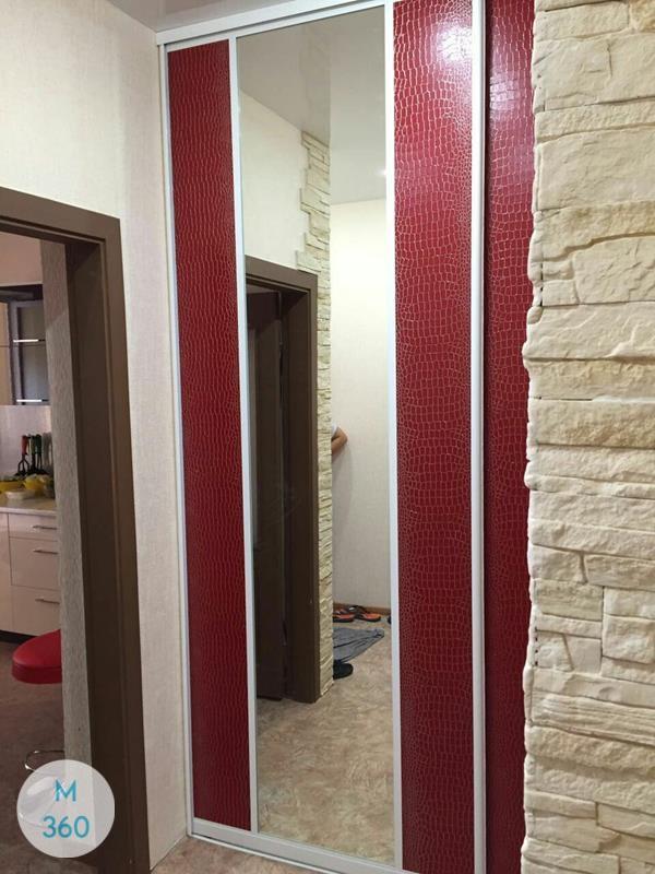 Красный шкаф Валлетта Арт 008649005