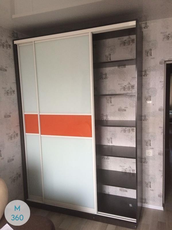 Оранжевый шкаф купе Риалто Арт 008920465
